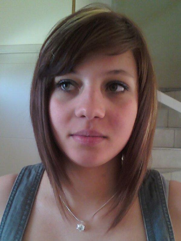 Et julie apres des meches une couleur et une coupe carr plongeant blog de hairstyle74 - Couleur carre plongeant ...