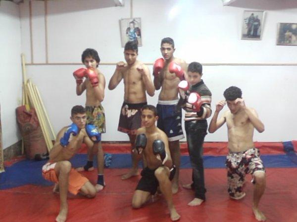 salle de ckick boxing