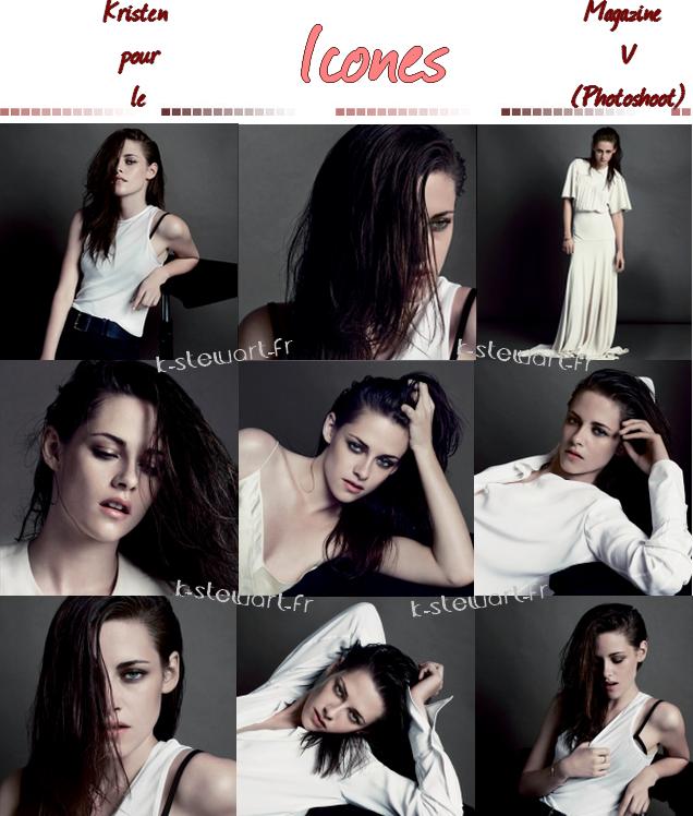 Kristen pour le Magazine V