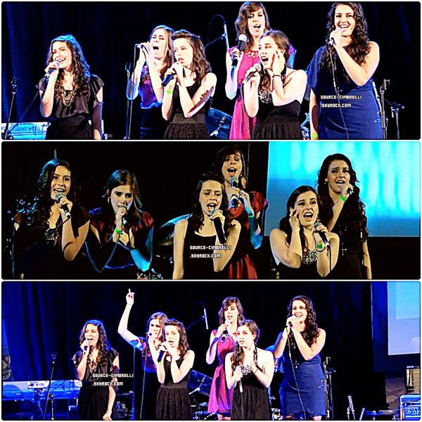 ARTICLE FLASHBACK // 24/09/11 - Cimorelli à la Cérémonie des Malibu Music Awards.