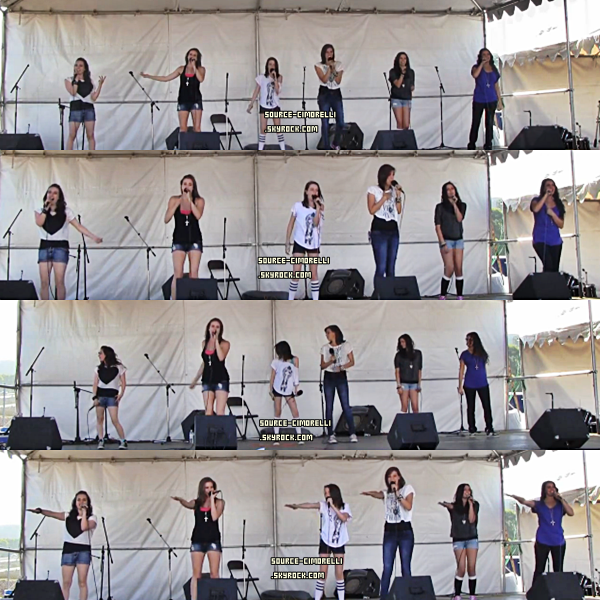 ARTICLE FLASHBACK : 3/08/2011 - Les Cimorelli at Festival Chili Cook Off à Malibu .