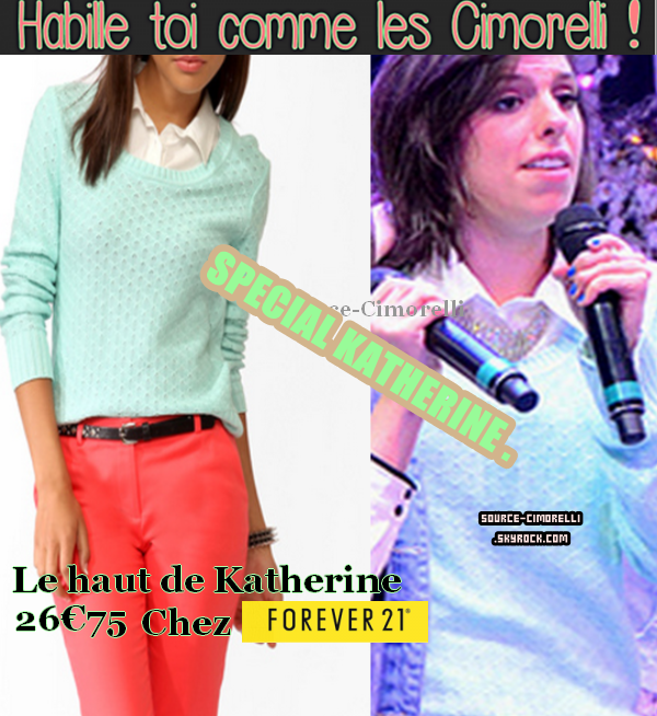 Happy Birthday Katherine . Article Spécial Kath 21 ans.