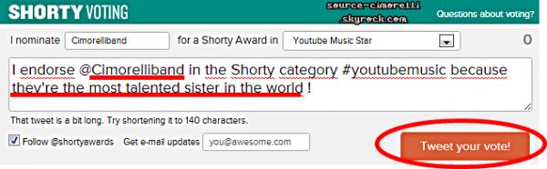 '22' de TAYLOR SWIFT ..Fan Mail . Nomination pour les Shorty Awards . Nouvelles photos de couverture & de profil pour Dani sur FB . TwitPic .