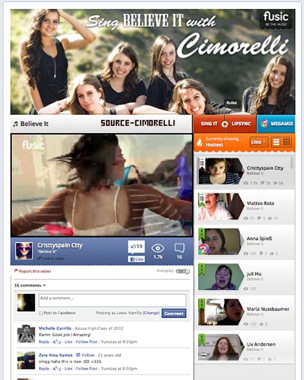 Les Cimorelli dans le Mag sur NRJ12 !Nouvelle vidéo des cousins Cim' tournée par Dani . Nouvelle vidéos Vine des Cim' - ha , he .