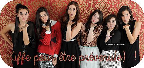 Message des filles pour Radio Disney . / Photshoot Christina .
