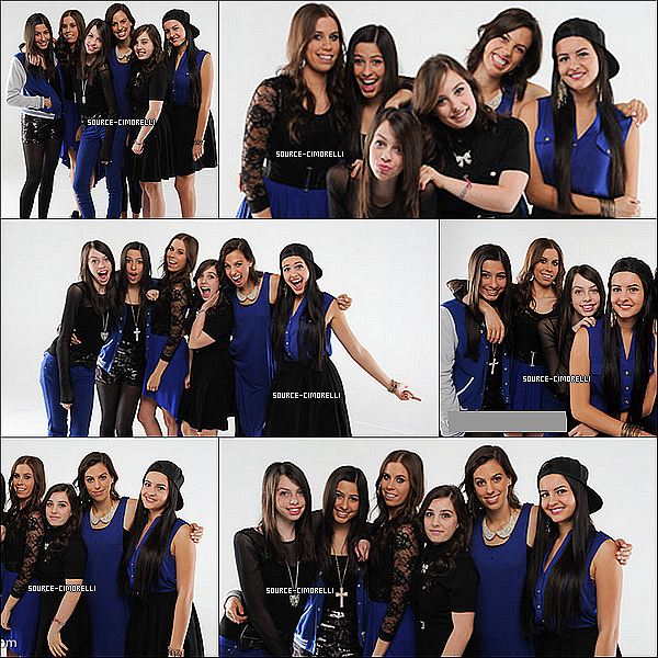 les Cimorelli sur le set du tournage de leur nouveau single 'Made In USA' - Photoshoot Micah Smith : Cimorelli (1)