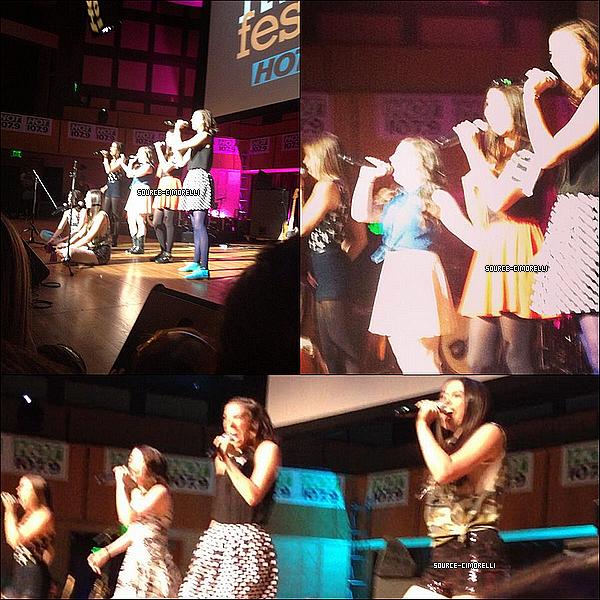 14.06.3013- Les Cimorelli ont performé au Social Music Festival en Indiana.
