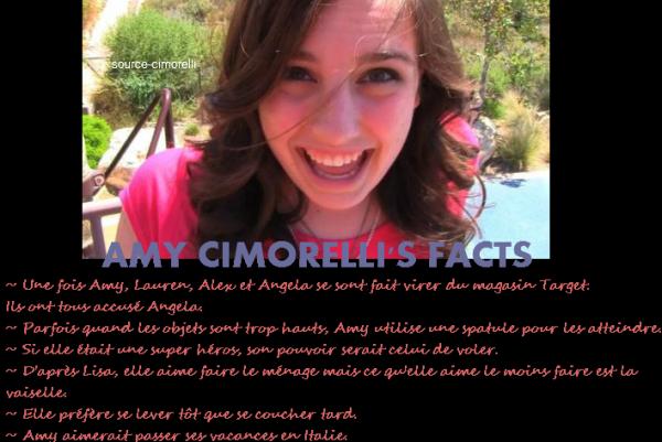 Article spécial 18 ans d'Amy !