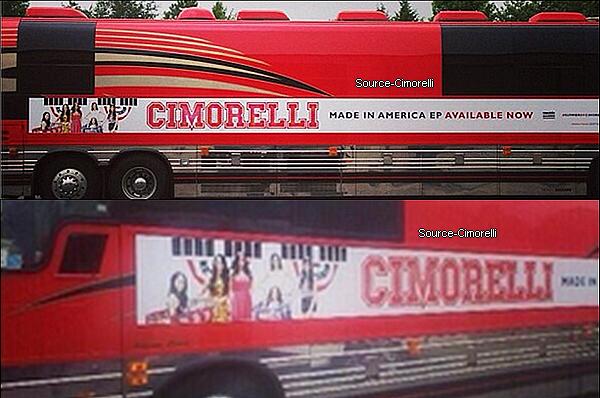 13.07.2013 - Les Cimorelli ont été chanté l'hymne nationale Américaine aux Dodgers Game.