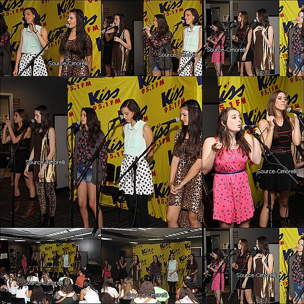 17.07.2013 - Les Cimorelli ont été enregistré l'émission 'Charlotte Today' sur NBC à Charlotte en Caroline du Nord.