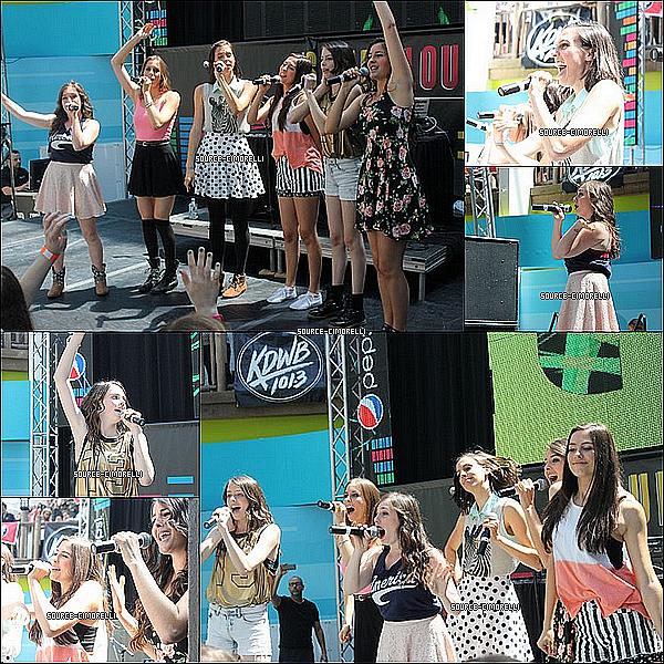 23.07.2013 - Les Cimorelli ont fait la première partie d'Austin Mahone au Mall Of America à Minneapolis dans le Minnesotta.