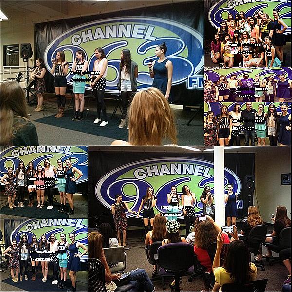 31.07.2013 - Les Cimorelli ont performé chez 'Channel 96.3, Listener Loung' à Wichita dans le Kansas.
