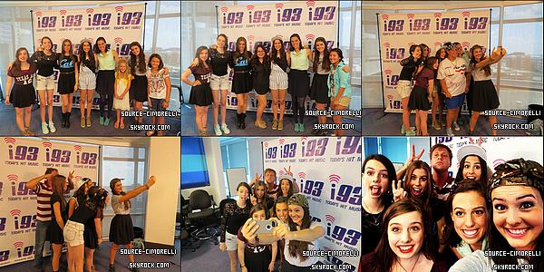 02.08.2013 - Les Cimorelli ont été enregistrer l'émission 'Good Day Dallas' à Dallas aux Texas.