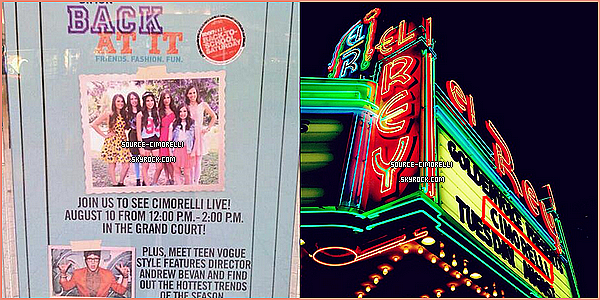 05.08.2013 - Les Cimorelli ont organisé un Treat & Greet à Bird Bakery à San Antonio au Texas.