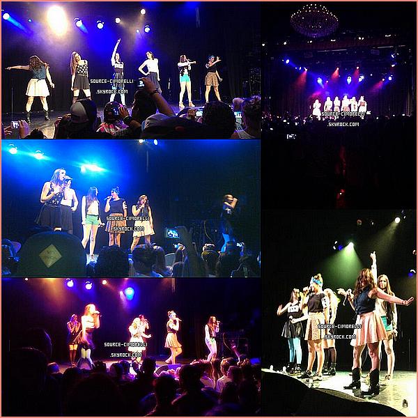 06.08.2012 - Les Cimorelli ont performé au El Rey Theater à Los Angeles.