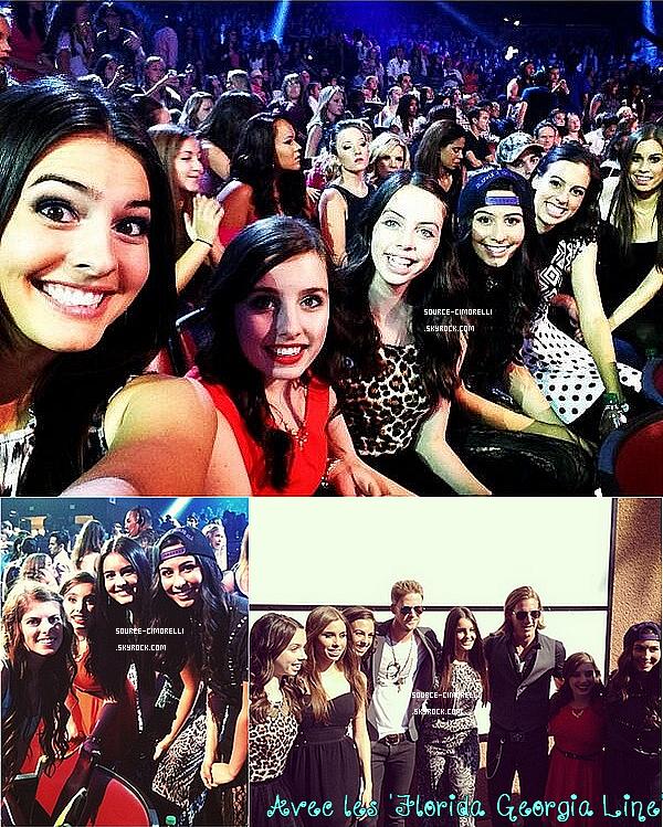 11.08.2013 - Les Cimorelli ont été à la cérémonie des Teen Choice Awards 2013 à Los Angeles.