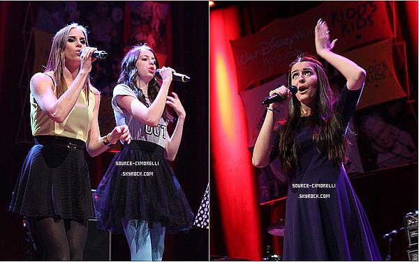 15.08.2013 - Les Cimorelli ont performé pour Kidd's Kraddick au House of Blues à Dallas au Texas.