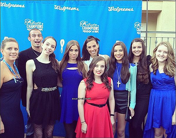 "20.09.2013 - Les Cimorelli ont performé au ""Global Genes Gala""."