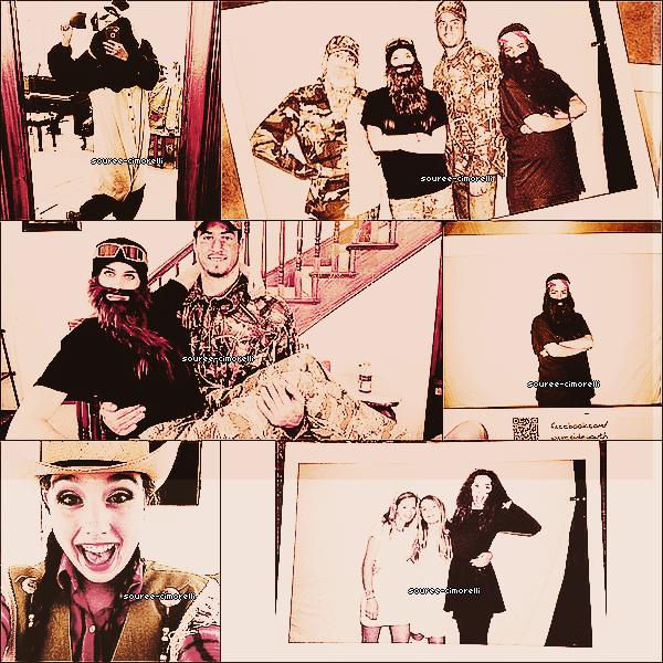 31.10.13 Les Cimorelli ont fêté Halloween en famille!Découvrez dès à présent leurs costumes!