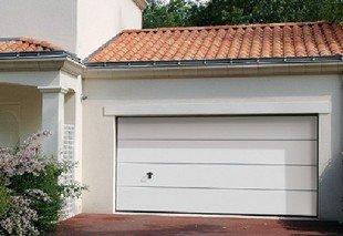 Choix Des Materiaux La Porte De Garage Villa Romane