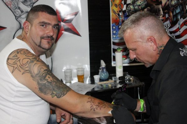convention tattoo 2012 Calais