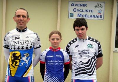 3 CHAMPIONS à l'AVENIR CYCLISTE !