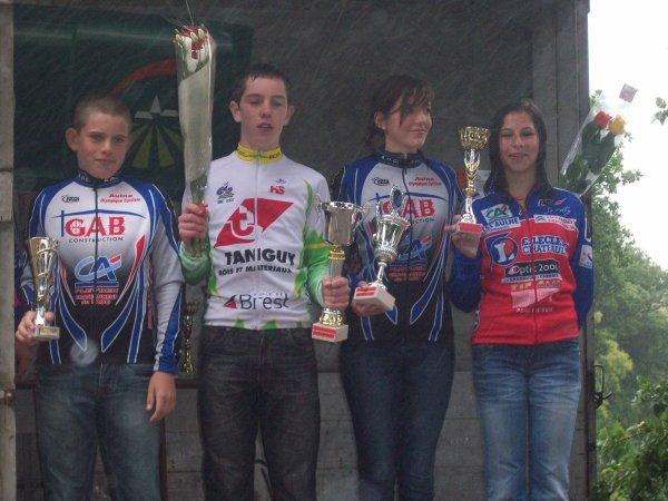 La 1ère étape de l'HERMINE Bretonne par l'AC MOËLAN, à Riec, le 25 mars 2012.