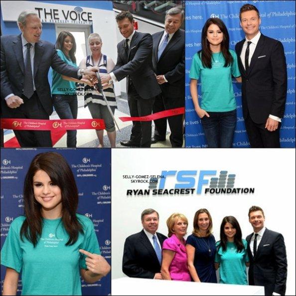 Selena inaugurant The Voice
