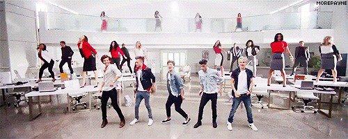Je crois qu'on va devoir apprendre une nouvelle danse !
