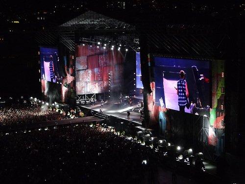 Quelques photos du concert d'hier soir