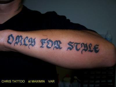 Only For Style Avant Bras L Univers Du Tatouage