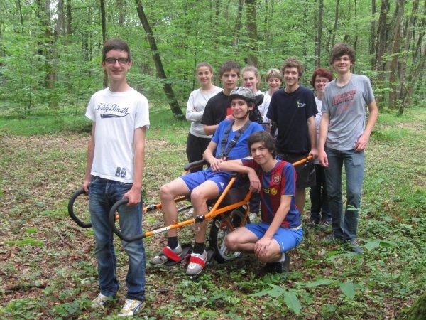 Article N°31 - 26 juin 2012 - partenariat avec des élèves de seconde du Lycée d'Avenière de Laval