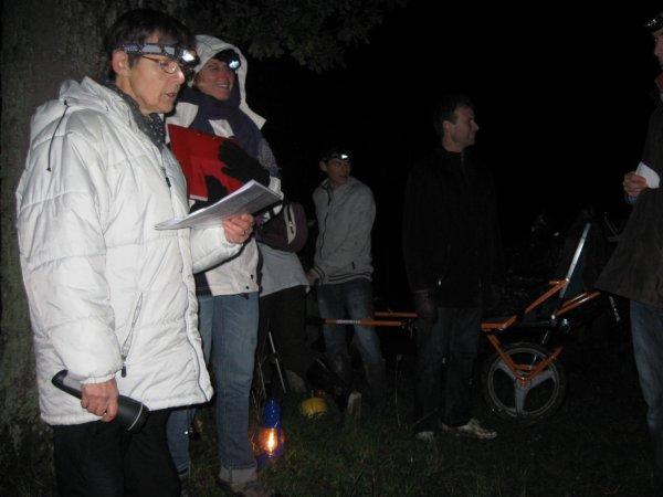 N°42 - 27 oct. 2012 : Rando nocturne aux Lampions - Le Genest St Isle