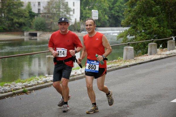 N°58 - 29 sept. 2013 : 10 km des Ecluses à St Jean Sur Mayenne - Laval