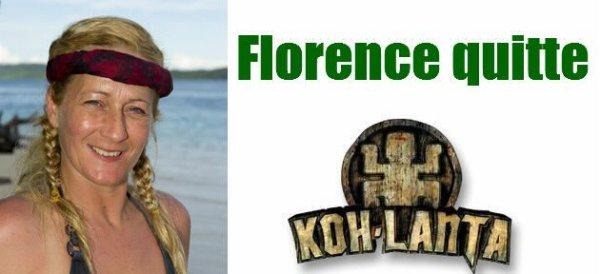 Florence est éliminé de KOH LANTA devant presque 6.850.000 de téléspectateurs !