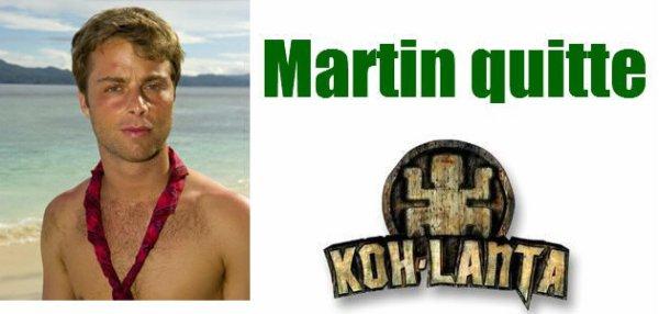Martin quitte Koh-Lanta devant plus de 7 millions de téléspectateurs !