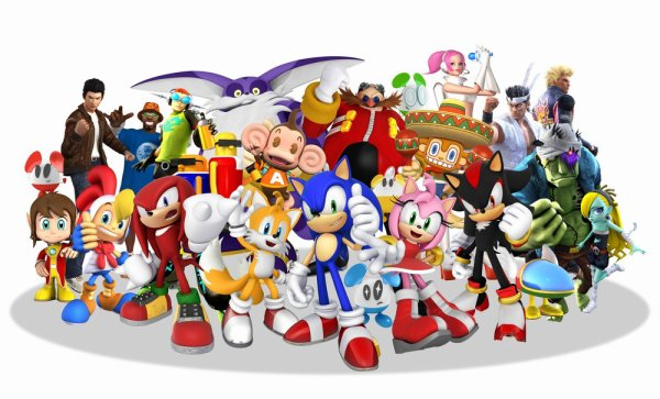 Test: Sonic & Sega All Stars Racing.