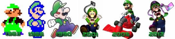 Biographie de Luigi.
