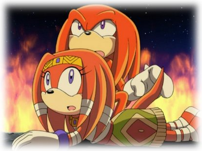 Biographie de Knuckles the Echidna.
