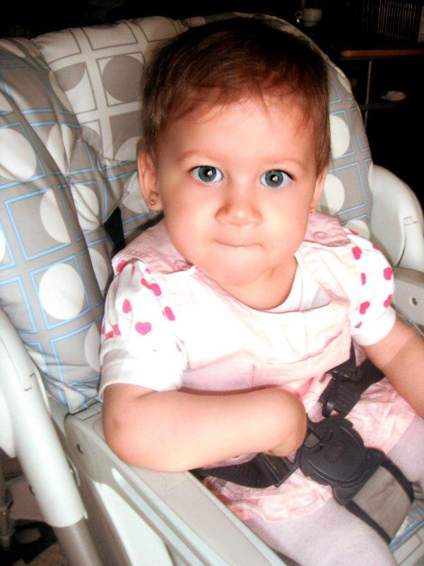Inaya visite du pediatre a son 8eme mois