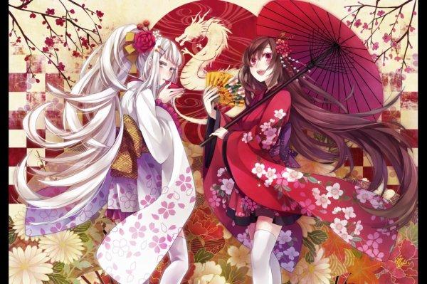 Les Kimono j adore !