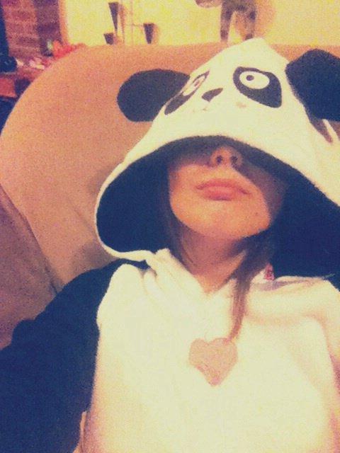 Me voilà en panda comme promis