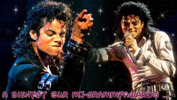 A bientôt sur MJ-GrammyAwards