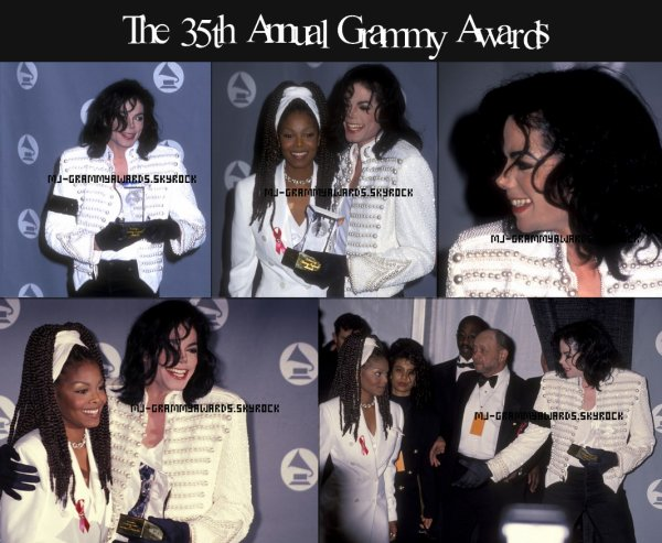 ♫♪ The 35th Annual Grammy Awards 1993 ♪♫