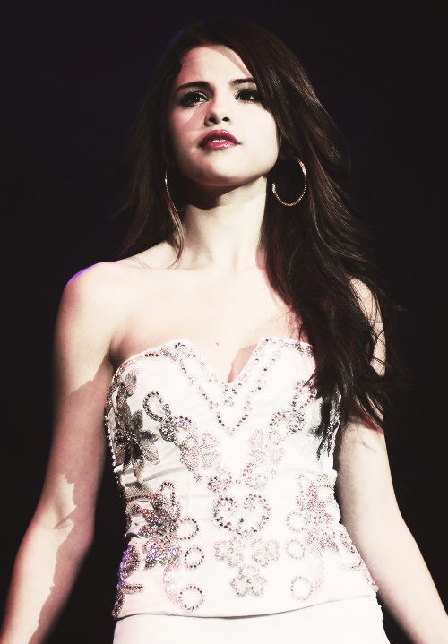 Selly on stage