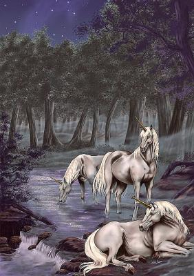 Licorne et pégase