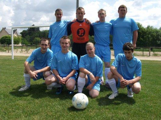 voici l'équipe de foot