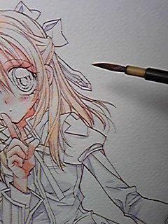 Petit dessin d'Arina Tanemura...C'est qui? *-*