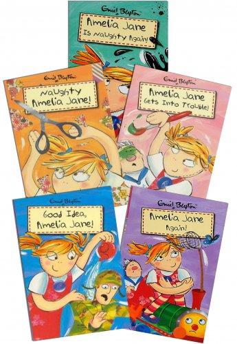 Enid Blyton Amelia Jane 5 Books Set Collection