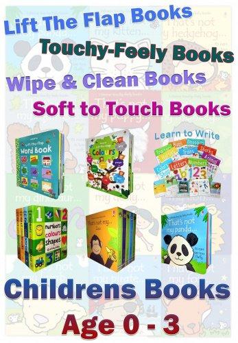 Snazal Pre-school Books (0-3) Range Collection (children's books, baby books, early reading books, board books)